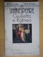 Giulietta e RomeoShakespeare WilliamNewton1990teatro tragedia Ojetti 201