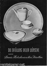 Katalog Lorenz Hutschenreuther Porzellanfabrik Selb Diadem, Oval, Favorit