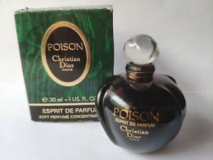 Vintage Dior Poison Esprit de Parfum 30ml