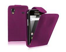 Funda para Estuche Abatible de Cuero Púrpura para Samsung Galaxy Ace GT-S5830G/S5830M S5830L
