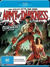 Army Of Darkness BLU RAY BRAND NEW SEALED