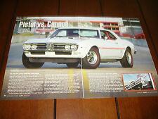 1968 PONTIAC FIREBIRD 400  ***ORIGINAL 2010 ARTICLE***