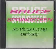 "BRUCE SPRINGSTEEN -RARO CD ITALY ONLY 1993 CELOPHANATO"" NO PLUGS ON MY BIRTHDAY"""