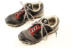 Pearl Izumi Men 8.5 US Gray X Alp Seek IV Cycling Shoes SPD Mountain Bike EU 42