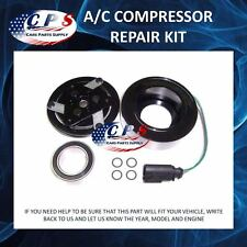 A/C AC Compressor Clutch Kit Repair Fits VW Jetta Beatle Golf Audi Quattro 99-06