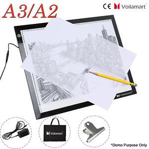 A2 A3 LED Tracing Board Light Box Drawing Pad Artist Copy Board Art Painting