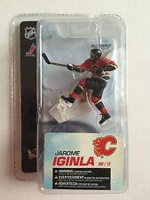 "McFarlane Sportspicks Jarome Iginla Calgary Flames NHL 3"" Series 4 Figure Rare!"