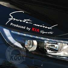 Headlight Sticker Sports Mind Decal Vinyl Car Stickers for KIA Exterior DIY Deco