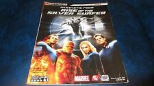 Fantastic Four Rise of the Silver Surfer Brady Games Official Strategy Guide