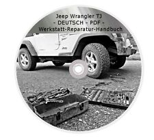 Werkstatthandbuch Reparaturhandbuch Reparaturanleitung CD - PDF Jeep Wrangler TJ