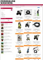 PRESSURE WASHER UK WEBSITE WITH NEW DOMAIN + 1 YEARS HOSTING - ECOMMERCE