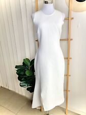 Ginger & Smart White Textured Dress Size 10