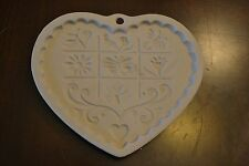 PAMPERED CHEF GARDENS OF THE HEART RETIRED 1996 COOKIE MOLD BAKING