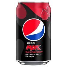 Pepsi Max Raspberry can 330ml x 24