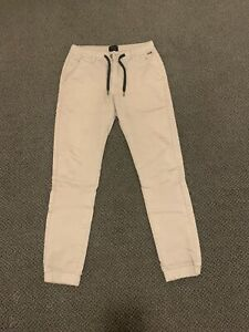 Industrie Beige Mens Chino Pants Size 32 Stretch Cotton