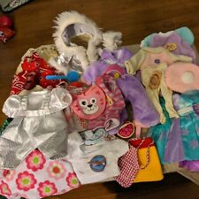 Nice Large Lot Of Baby Doll Clothes and accessories  size approx 10 inch doll