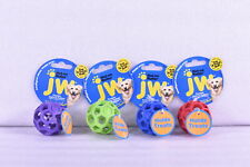 LOT OF 4 JW Hol-ee Roller Tug & Treat Ball, Assorted Colors