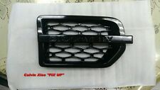 GLOSSY BLACK SIDE VENT GRILLE FOR LAND ROVER L319 DISCOVERY 3 2004-2009