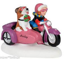 Dept. 56 Rebel With A Dog on Harley Davidson North Pole Retired 4035575