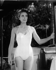 CREATURE FROM THE BLACK LAGOON JULIE ADAMS POSES ON THE BOAT 8X10
