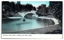 1909 Merriam Park, Twin Cities, MN Postcard