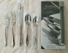 Gorham Studio Stainless 5pc Place Setting Knife Spoons Forks NIB Korea