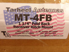 "MT-4 FB Stainless Steel 1.25"" x 1.25"" foldback Hitch Mount....Tarheel Antennas"