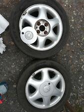 """2  Alufelgen Opel 5,5J x15""""  (Nr.176)"""