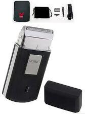 MOSER Batteria viaggio Rasoio con molti accessori + ersatzteilen. Mobile shaver.