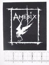 AMEBIX - DIY Crust Punk Patch Avskum Anti Cimex Aus-rotten Anarcho Wolfbrigade
