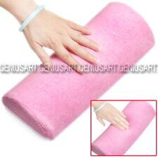 Poggiamano Cuscinetto per Ricostruzione Unghie Nail Art Manicure Piedi Rosa