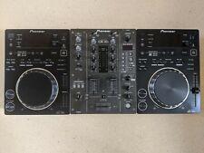 Pioneer CDJ 350 (Pair) and DJM 400 Mixer