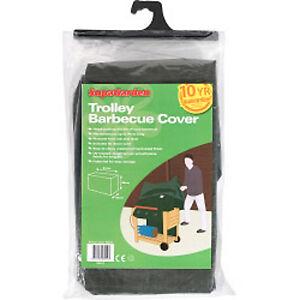Garden Trolley BBQ Barbecue Cover / Protector 97 cm x 79 cm x 51 cm rectangle