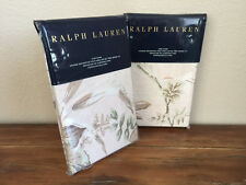Ralph Lauren Annadale Lindsley King Pillow Sham Pair Blush Floral