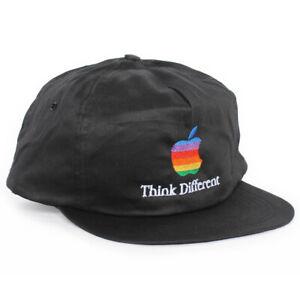 Vintage Think Different Apple Mac Snapback Hat Cap vaporwave windows y2k NEW