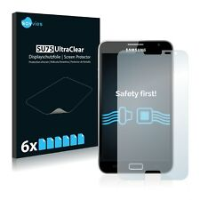 6x Savvies Films protection Ecran pour Samsung Gt-n7000 Protecteur