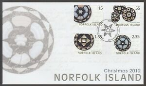 Norfolk Island 2012 FDC Christmas Issue