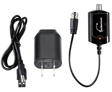 High Gain Low Noise Indoor Antenna Amplifier Signal Booster Gain 20dB
