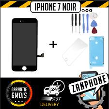 ECRAN LCD SUR CHASSIS + VITRE TACTILE IPHONE 7 NOIR LIVRAISON GRATUITE