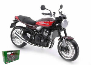 Model motorcycle Kawasaki Z900RS Scale 1:12 Motor Bike diecast collection