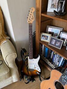 Squire Stratocaster.