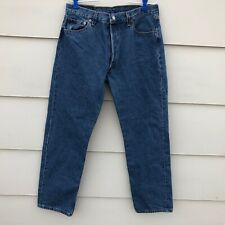 Vtg Levi's 501 Button Fly jeans mens tag 36 x 32 Measures 33 x 31 USA