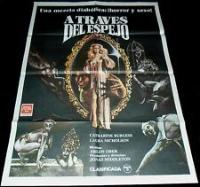 Through the Looking Glass ORIGINAL SPAIN POSTER Cult HORROR Supernatural sex