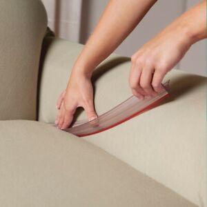 Set of 3 Slip Cover Tuck Grips - Keeps Furniture Slip Covers from Moving Sliding