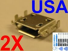 2X Lot Micro USB Charging Port Charger For Samsung Captivate Glide SGH-i927 USA