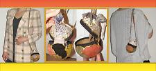 Vintage One of a kind Coconut tooled leather suede shoulder bag Handmade bag
