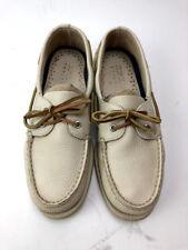 Sperry Authentic Original 2‑Eye White Cap Shoe Men's 8