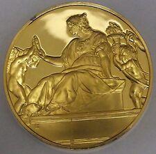 Franklin Mint Art Treasures Prudence 1511 Gold Over Sterling