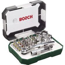 Bosch Heimwerken & Garten Schrauberbit- / Ratschen-Set, 26-teilig, Bit-Satz