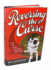 REVERSING THE CURSE by Dan Shaughnessy 2005 Boston Red Sox 1st Edition